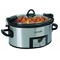 Deals on Crock-Pot SCCPVL610-S Programmable Cook and Carry Oval Slow Cooker