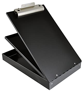 Saunders Recycled Aluminum Cruiser Mate Storage Clipboard U2013 Form Holder  With Dual Tray Storage With Self