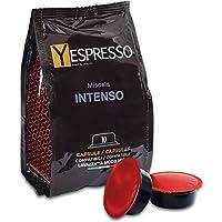 Yespresso Capsule Lavazza a Modo Mio Compatibili Intenso - Confezione da 100 Pezzi