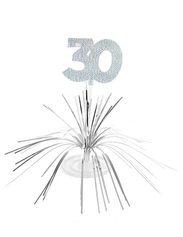 Centro de mesa 30 años - Única Generique