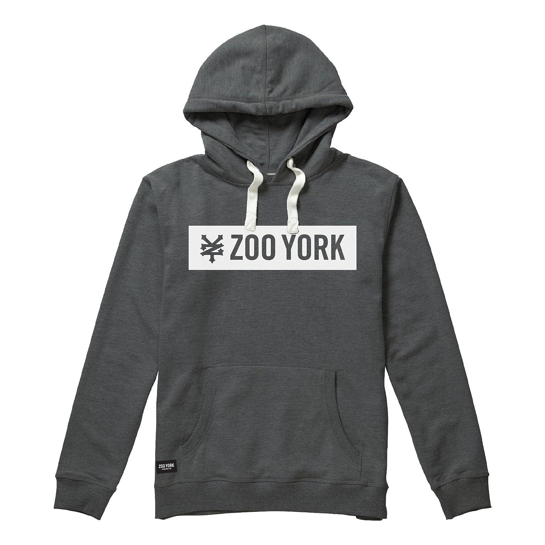 dark Sweat Box Grey Dkh Homme Heather York M À Zoo Capuche gdfXrgx
