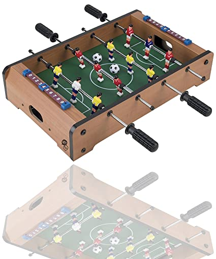 Magicwand Mid Size Portable Foosball Soccer Game Table Set for Kids (Medium)