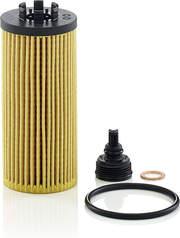 MANN-FILTER Original HU 6012 Z KIT Juego de filtros de aceite con junta//juego de juntas para coches