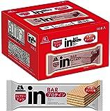 ウイダー inバー プロテイン ナッツ (14本入×1箱) ナッツペーストの甘味を感じるウェハータイプ 高タンパク10g