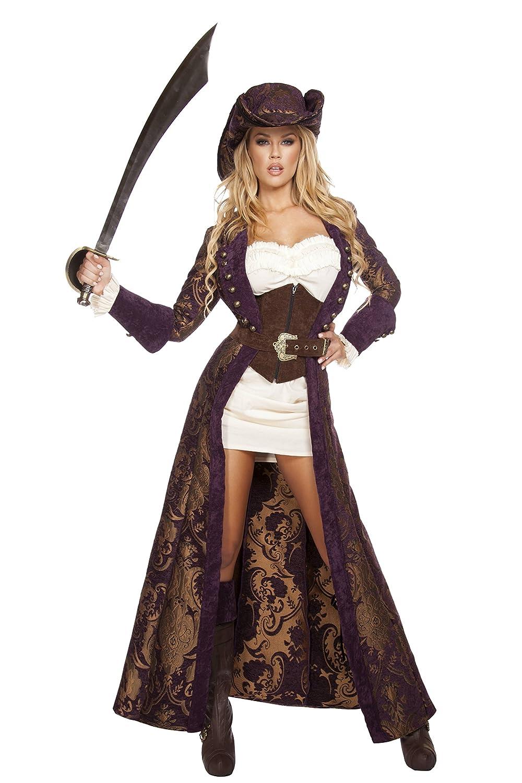3ef5fe445df Amazon.com  Roma Costume Women s 6 Piece Decadent Pirate Diva  Clothing