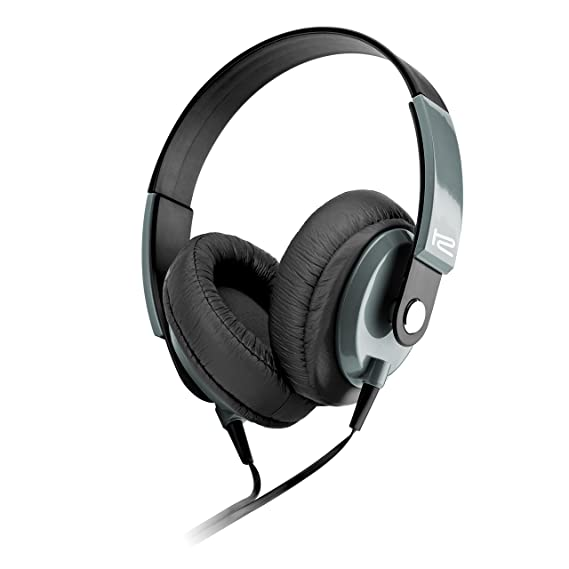 Klip Xtreme Obsession Stereo Headphones with Microphone- Over-ear with In-Line Command