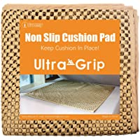 "I FRMMY Cushion Gripper Keep Couch Cushions from Sliding - Non Slip Couch Underlay Pad, Stop Sofa Cushions from Sliding (24"" x 24"")- 3 Pack"