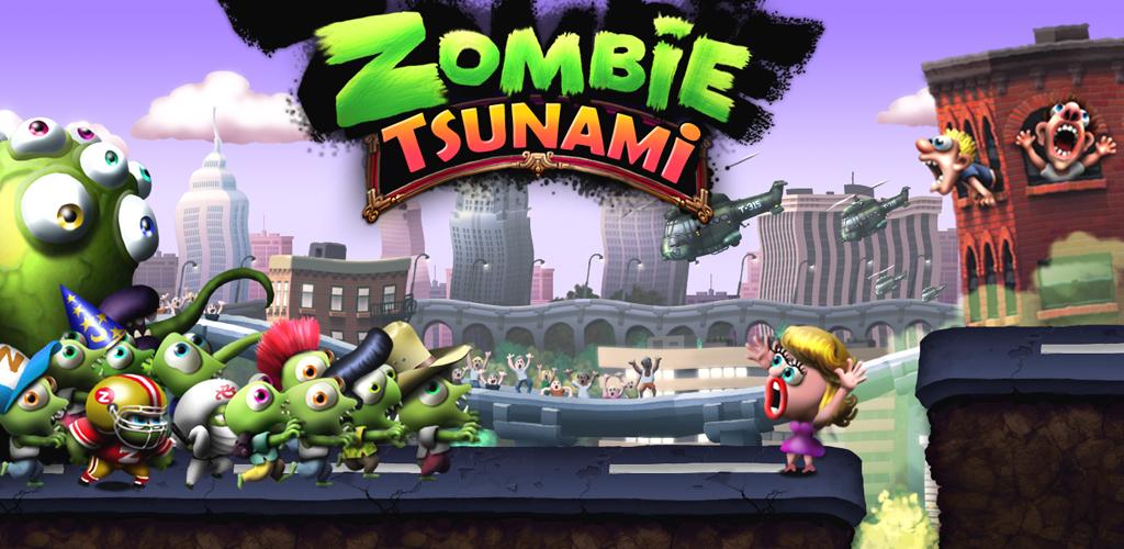 Resultado de imagem para zombie tsunami