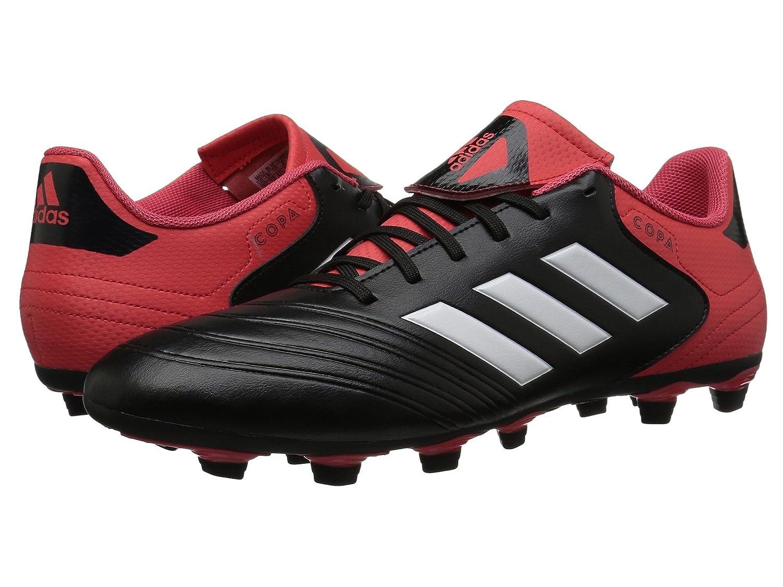 (アディダス) adidas メンズサッカーシューズ靴 Copa 18.4 FG Black/White/Real Coral 8 (26cm) D Medium B07BQHQJZQ