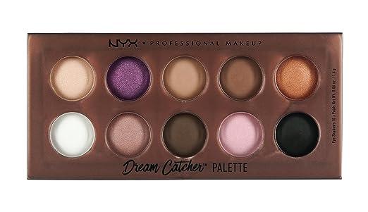 NYX Dream Catcher Palette Golden Horizon Amazonde Beauty Cool Nyx Cosmetics Dream Catcher Palette