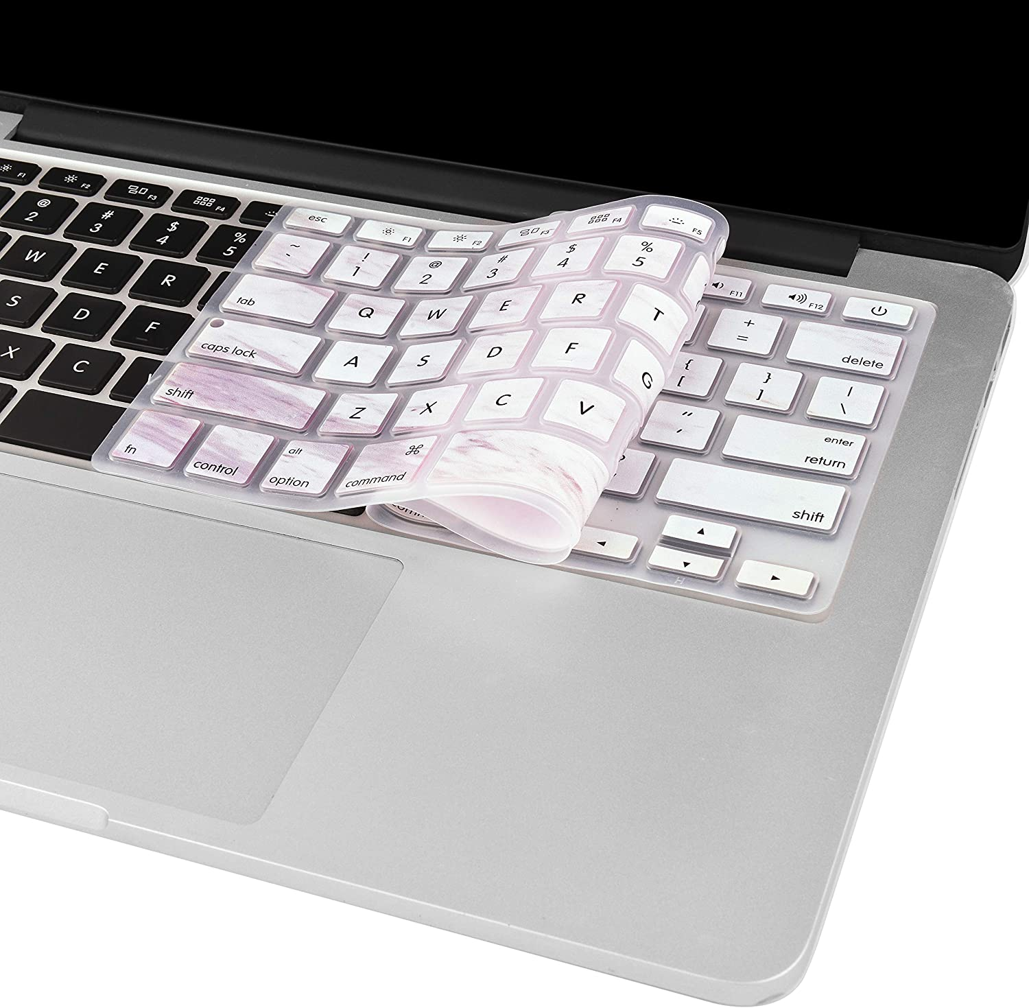 /& Pro 16 A2141 LuvCase Keyboard Cover Protective Skin Compatible with Newest MacBook Touch Bar /& Touch ID Pro 13 A2289//2251 2020 Japanese Wave 2020//2019