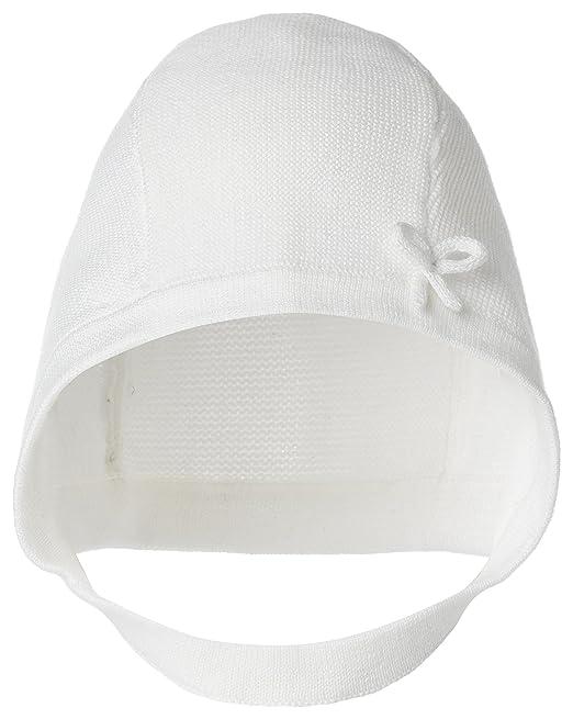 d76aeef8e Noppies - Sombrero - para bebé niña blanco crudo 0-3 Meses: Amazon ...