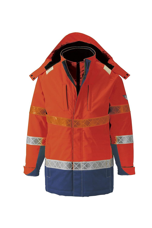 ジーベック XEBEC 秋冬用防水防寒コート 801 82 オレンジ 3L B0169W08CW 3L|オレンジ オレンジ 3L