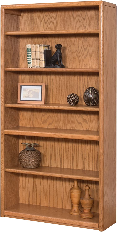Martin Furniture Contemporary 6 Shelf Bookcase – Fully Assembled