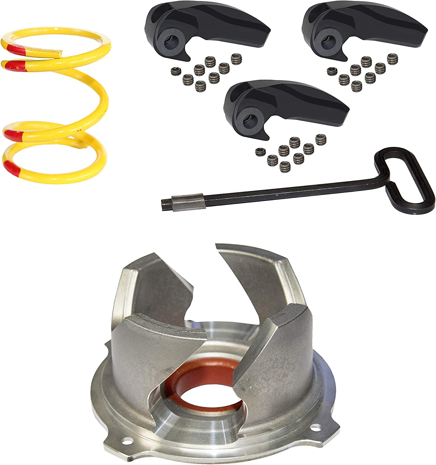 0-4500 Starting Line ProductsSLP 41-877 High Load Clutch Kit for Polaris RZR XP 1000