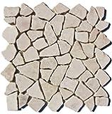 M-003 Marmormosaik Badezimmer Naturstein Bruchstein Stein-Mosaik Fliesen Lager Verkauf Herne NRW