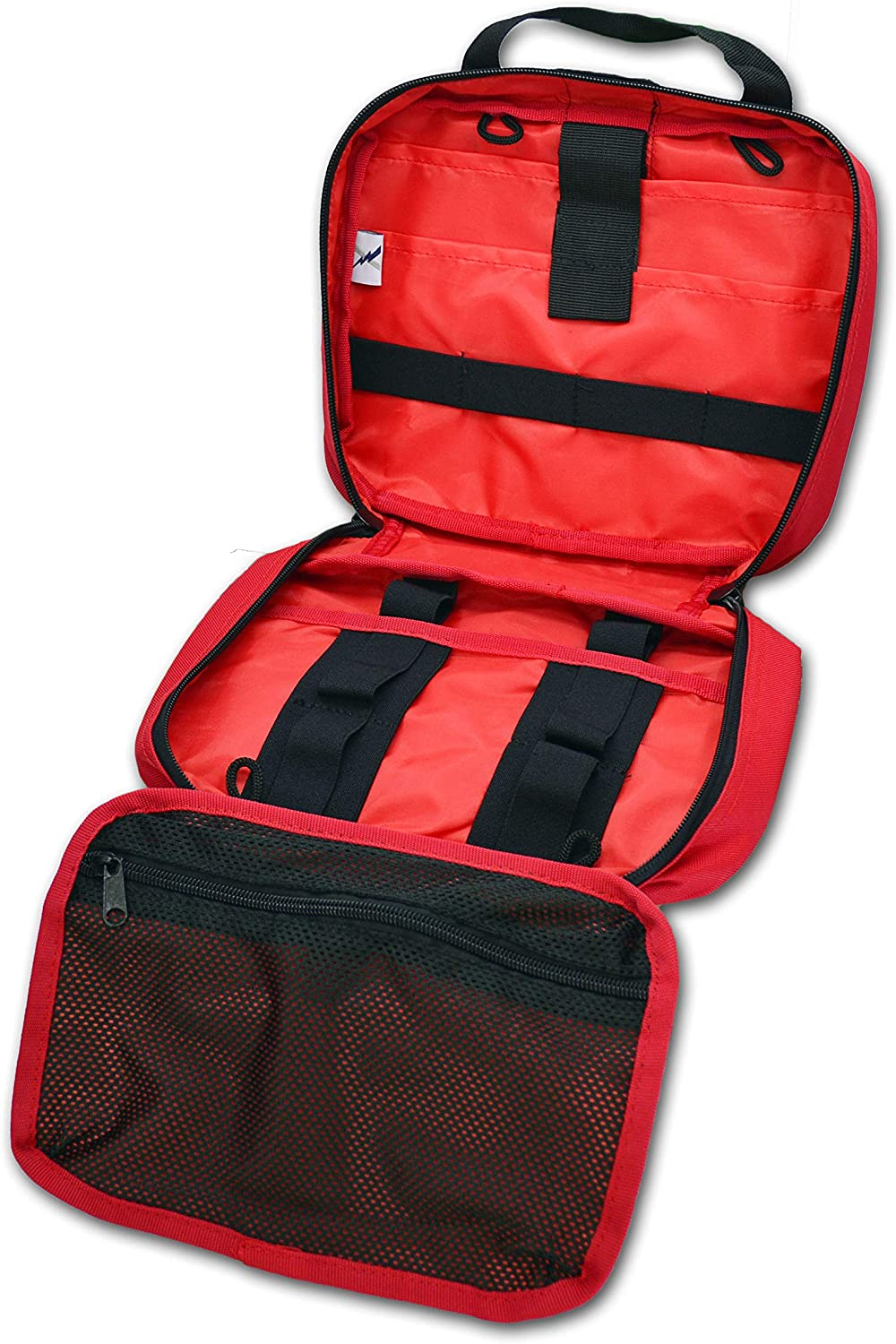 Lightning X Premium Rip-Away Individual First Aid Kit for Vehicle Head Rest - RED: Health & Personal Care