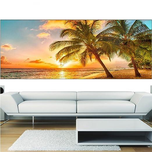 Diseño panorámico 9102 Palmas, 260 x 101 cm: Amazon.es: Hogar