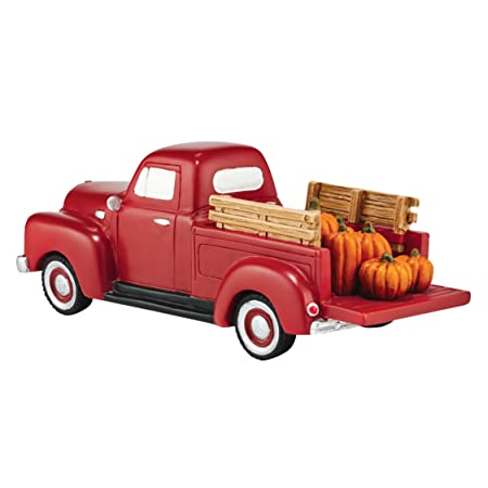 Department 56 Village Harvest Fields Pick Up Truck Accessory Figurine, 2.25 inch