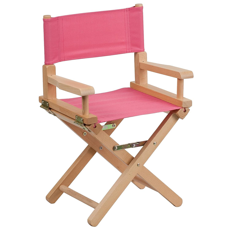 Nice Amazon.com: Flash Furniture Kid Size Directors Chair In Pink: Kitchen U0026  Dining