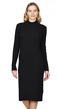 707ada76475 Image Unavailable. Image not available for. Color  State Cashmere Women s  100% Pure Cashmere Turtleneck Long Sleeve Sweater Dress