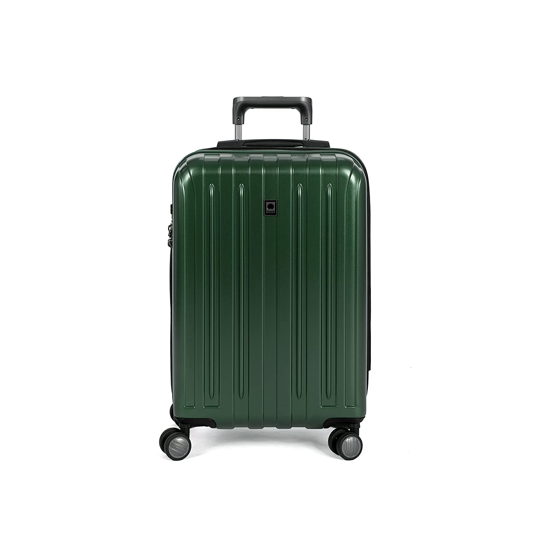 Delsey Luggage Helium Titanium, Carry On Luggage, Hard Case Spinner Suitcase, Graphite Inc. 00207180001
