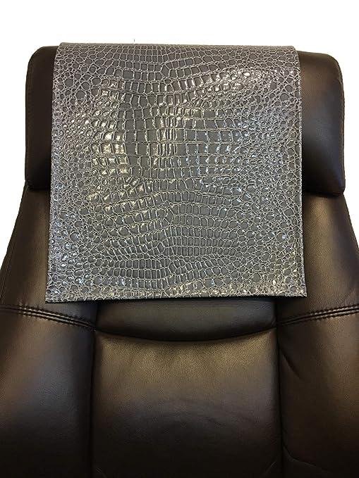 Amazon.com: Vinilo cocodrilo gris 14 x 30 de sofá cubierta ...