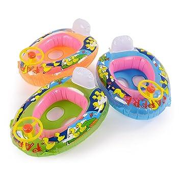 CLE DE TOUS - Flotador para Niños Niñas Bebés de 15-20kg en Forma de