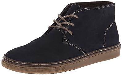 Johnston & Murphy Men's McGuffey Chukka Boot, Navy Suede, ...