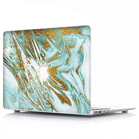 Macbook Coque L2 W Mat Plastique Givre Coque De Protection Avec Revetement En Caoutchouc Marbre Motif Macbook Air 11 Model A1370 A1465 Marble