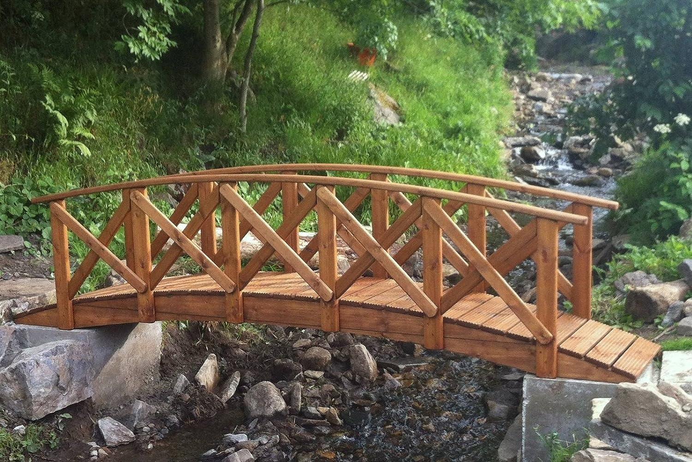 Classica Low Rail Garden Bridge (5ft Classica)