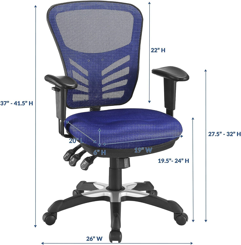Office Chair Drafting Stool Seat Pneumatic Adjustable Swivel Work Desk Black 32H