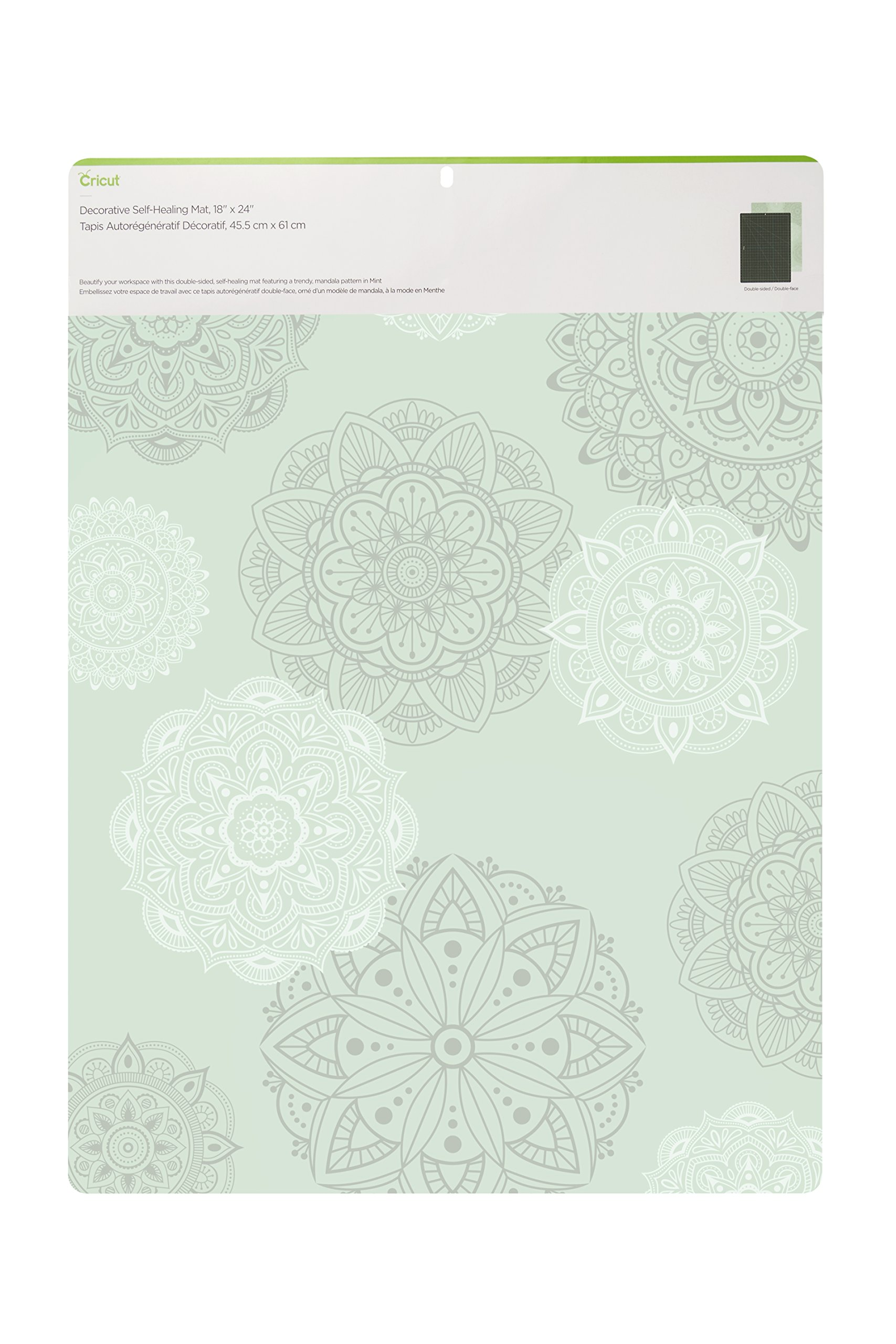 Cricut 2004712 18'' x 24'' Deco Self Healing Mat, 18x24-Inches, Mint