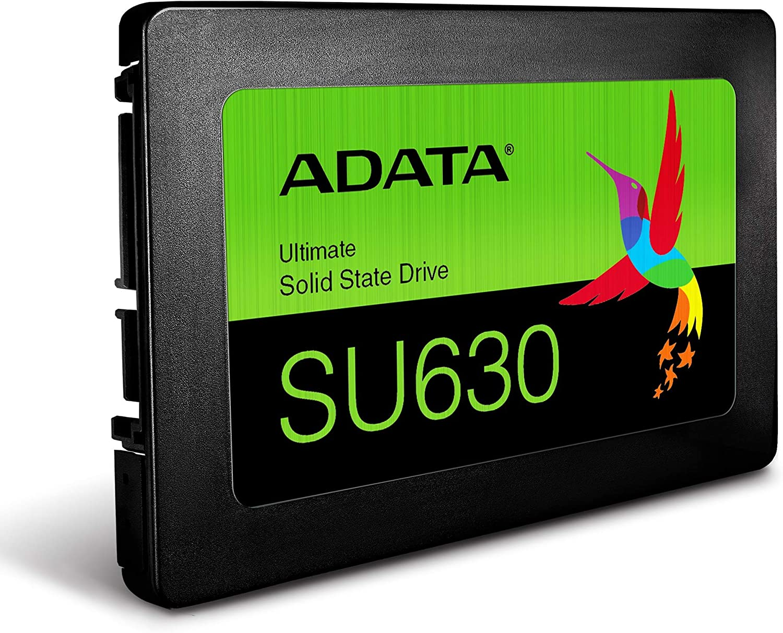 Black ADATA Ultimate SU630 960GB Solid State Drive