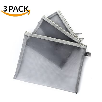 b1499012ad37 Mesh Bag With Zipper, Clear Pencil Case, Organize Supplies, Zipper Mesh  Pencil Pouches Bag, Travel Accessorie Holder Stationery Pencil Pouch,  Cosmetic ...