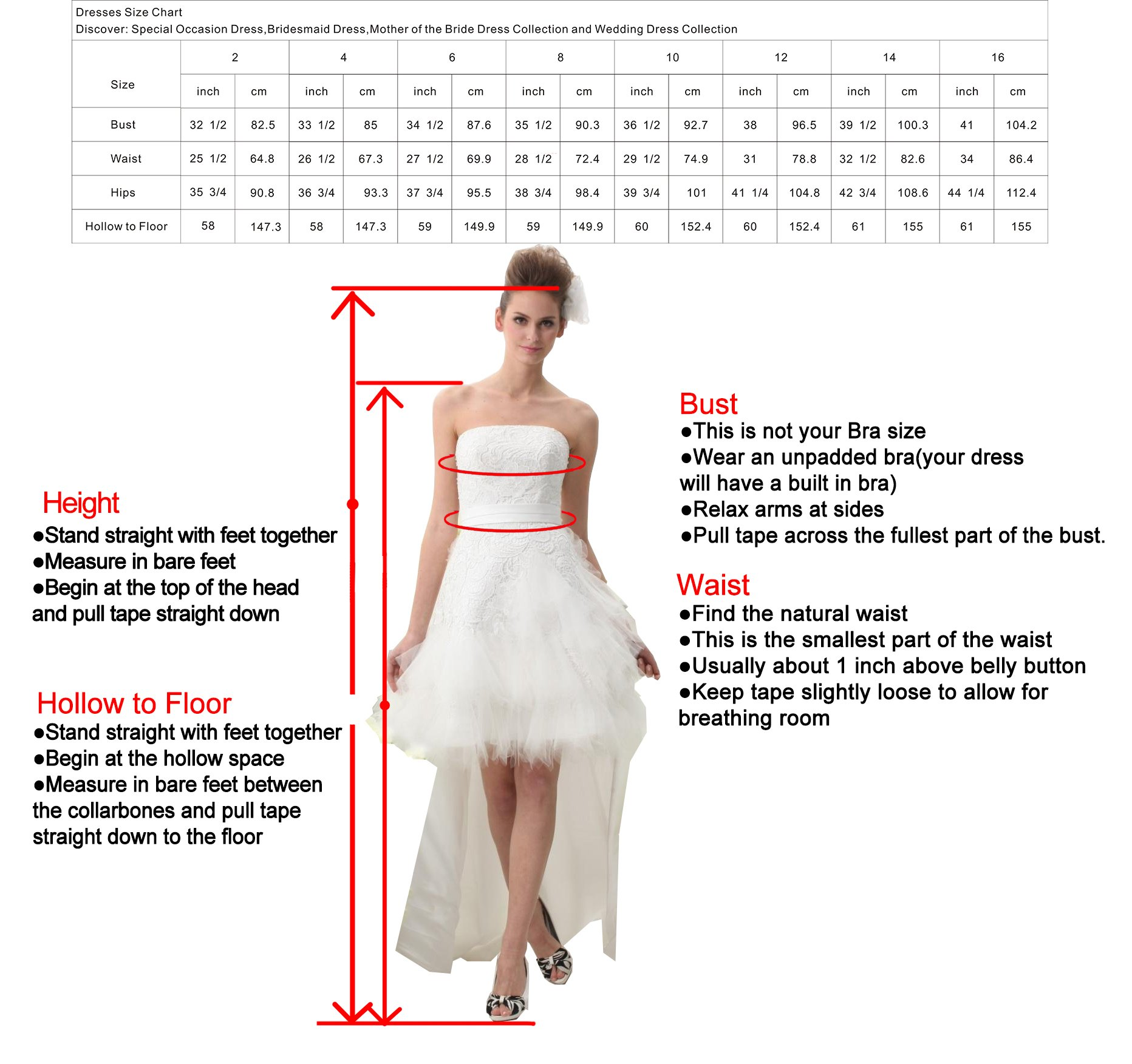 UnionFashionLi Knee Length White Cocktail Lace Wedding Dress with Removable Tail by UnionFashionLi (Image #7)