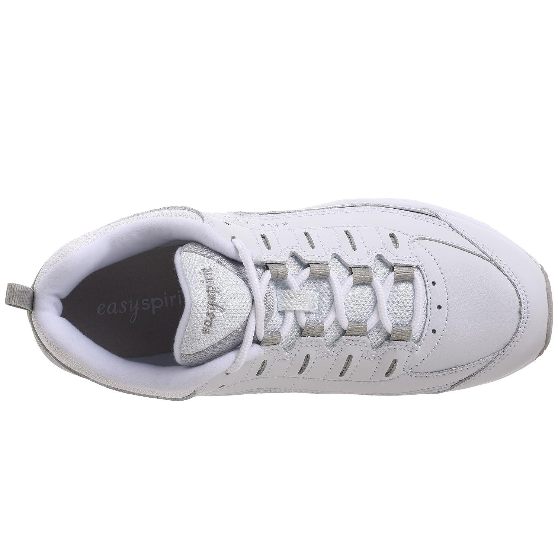 Easy Spirit Women's Romy Sneaker B002WN1H32 7 B(M) US|White/Grey