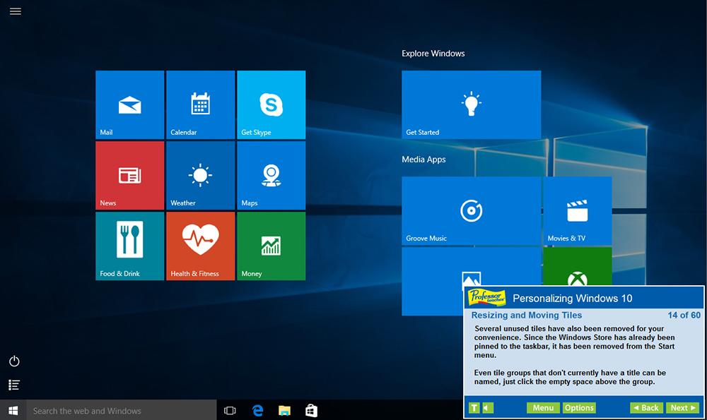 Amazon.com: Professor Teaches Windows 10 Tutorial Set Downloads