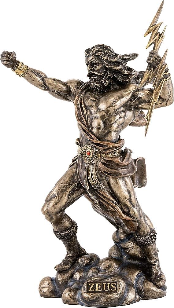 Top Collection Zeus Statua - Re degli Dei - Mitologia greca ! - Navi  Immediatamente: Amazon.it: Casa e cucina