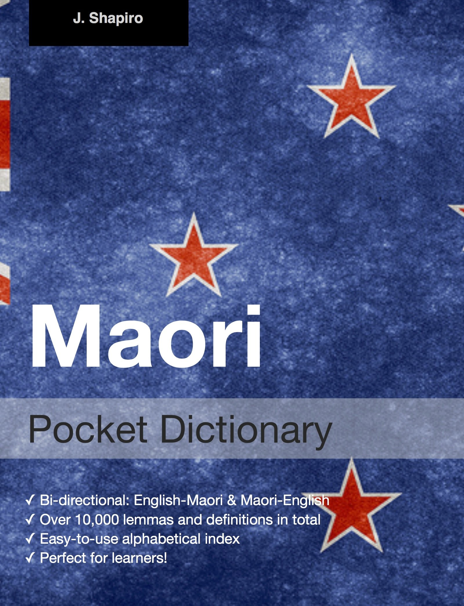 Maori Pocket Dictionary  English Edition