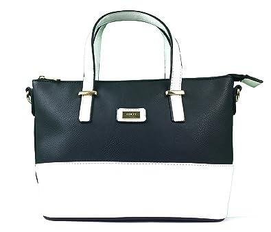 46807a73708b ❤❤SALE❤❤ END OF LINE❤❤ Designer Handbags for woman PU Leather handbag top  handle Grab bag Great summer bag with contrasting trim   detachable Shoulder  ...