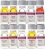 Lorann Oils Dram 10 Pack FF#2 Fruit Flavor (Pack of 10), 1 Dram