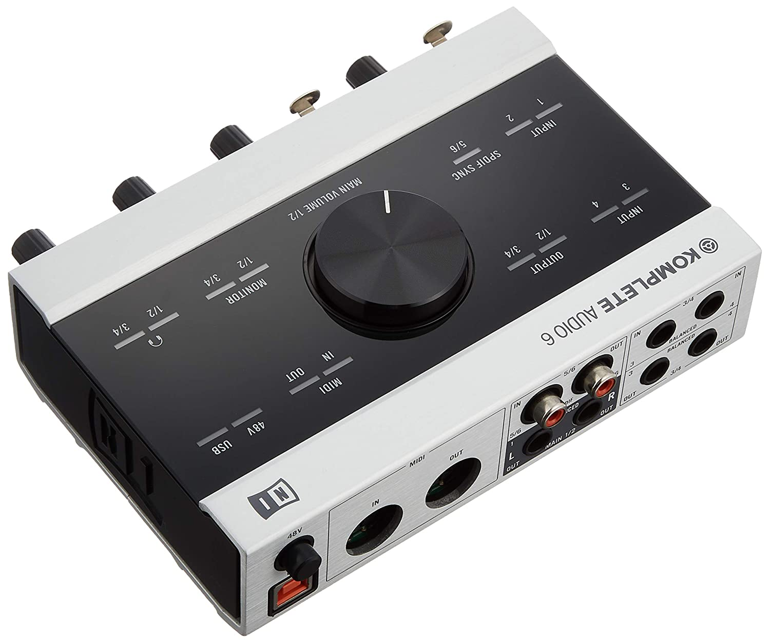 komplete audio 6 driver not recognized
