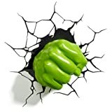 Amazon Price History for:3DLightFX Marvel Avengers Hulk Fist 3D Deco Light