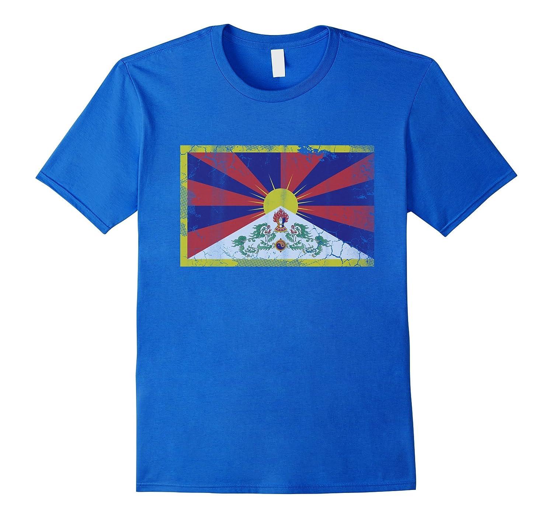 Vintage Flag of Tibet Shirt-TH