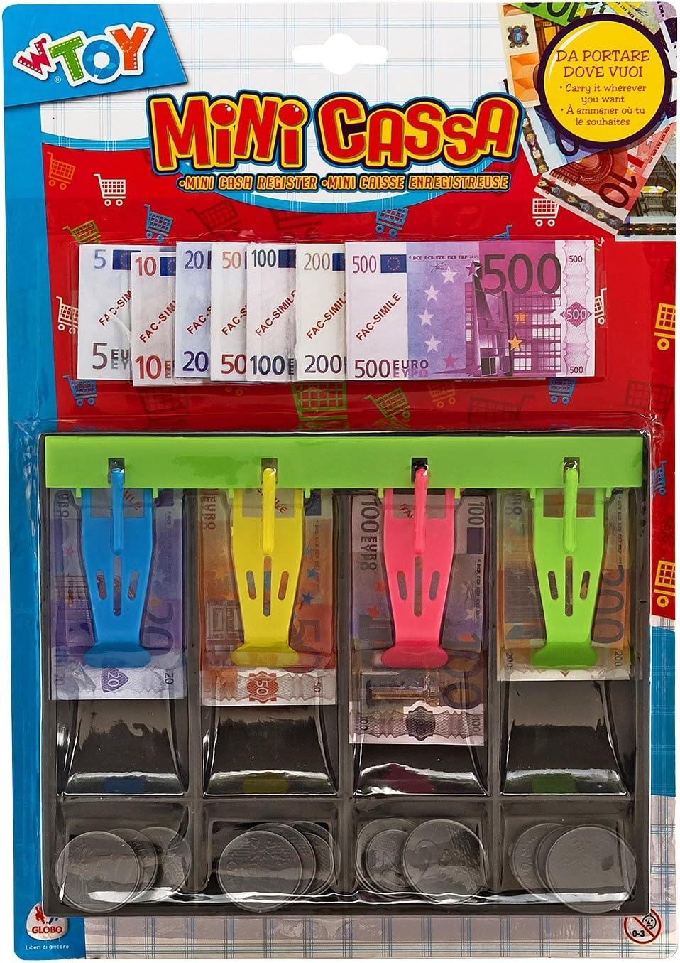 Viscio Trading 169980 – Caja registradora con Monedas y Billetes Euro Cash: Amazon.es: Juguetes y juegos
