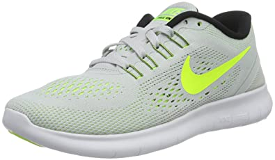 Nike WoHombres Pure Free Rn Running Zapato Pure WoHombres Platinum  Volt df18a6