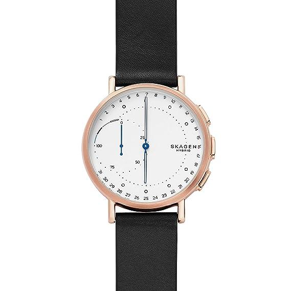 Skagen Reloj Analógico para Hombre de Cuarzo con Correa en Cuero SKT1112: Amazon.es: Relojes