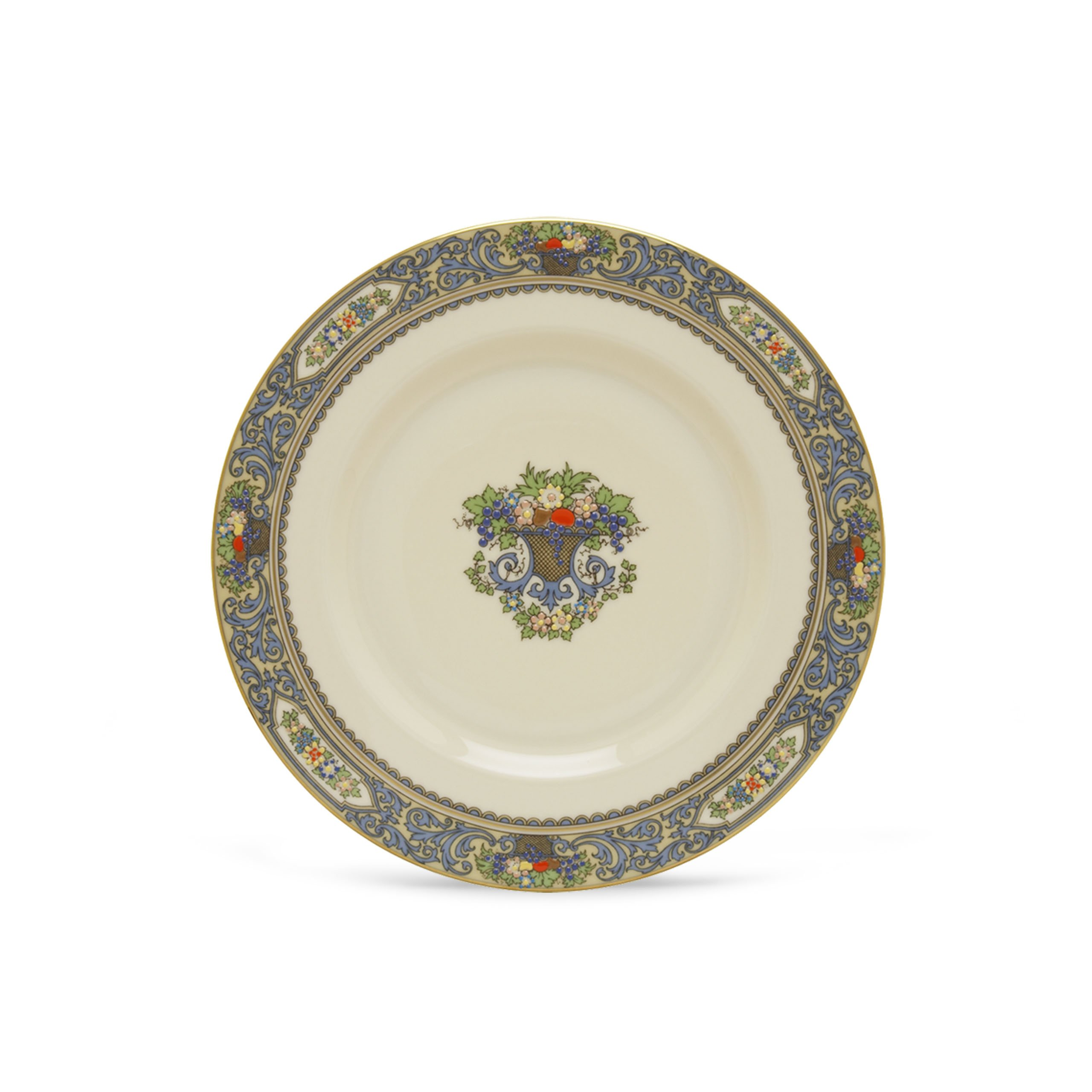 Lenox Autumn Banded Ivory China Butter Plate