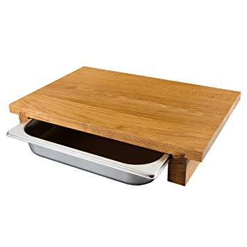 Cleenbo Planche à Découper Classic Oak Gn Planche Cuisine En Bois